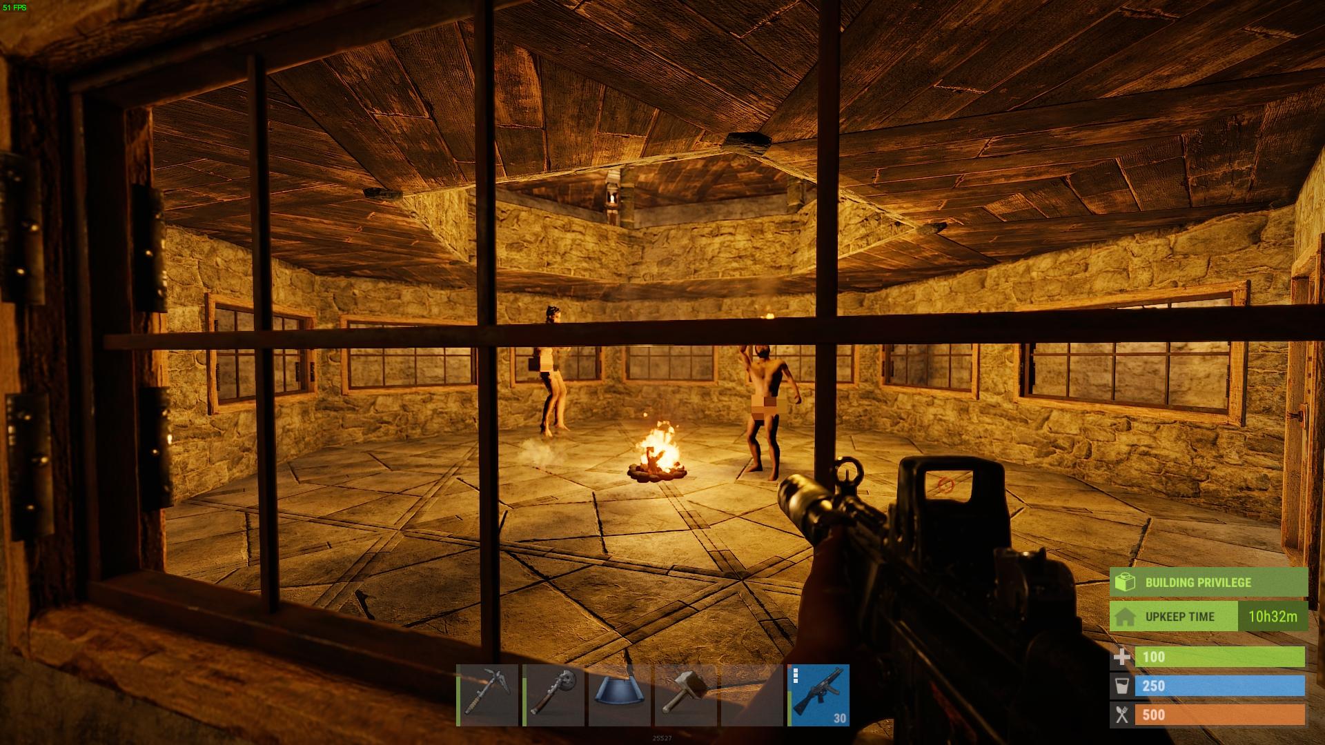 The fresh spawn fight club arena.