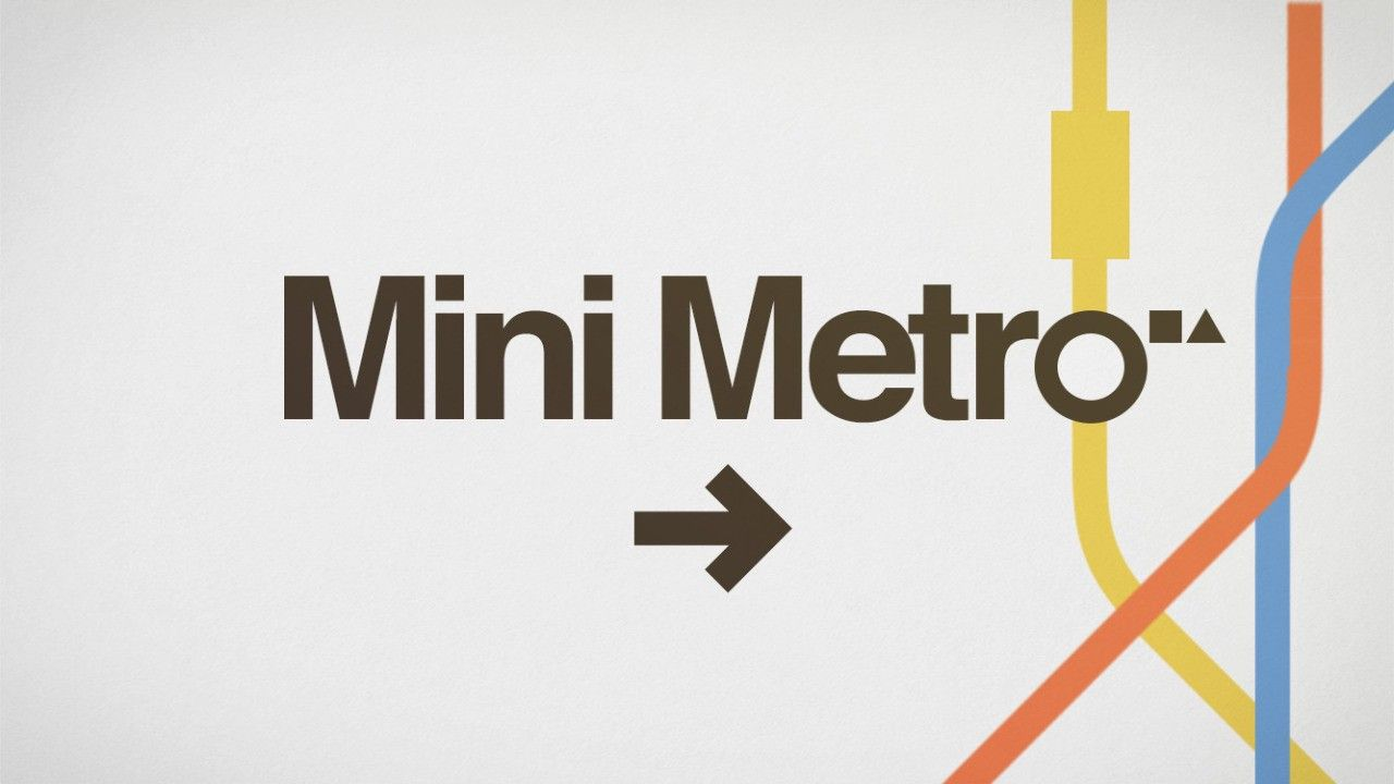 Mini Metro - A more elegant train simulator.